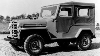 日産 パトロール (初代 '51-'60):民生用に活路を見出した日産製4輪駆動車第一弾 [4W60]