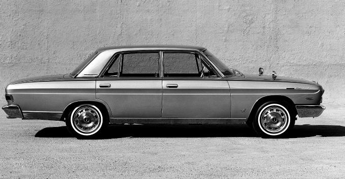 日産 プレジデント 初代 1965 1973 専用設計の大型vipサルーンとして