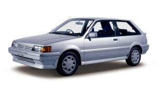 日産 パルサー (3代目 '86-'90):クーペが独立した一方フルタイム4WD車を追加 [N13]