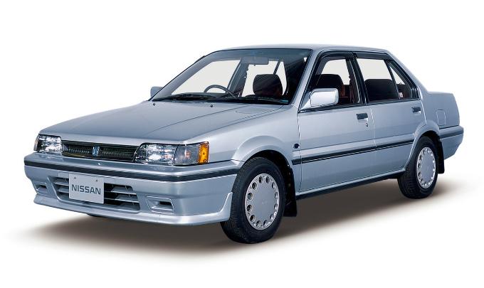 日産 パルサー (3代目 1986-1990):クーペが独立した一方フルタイム4WD車を追加 [N13]
