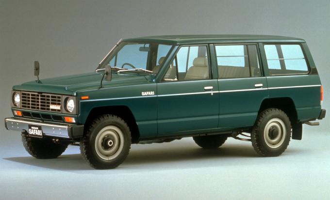 日産 サファリ エクストラバン 1980