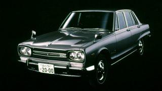 日産 スカイライン (3代目 '68-'72):日産・プリンス合併後初のモデルになるとともに初代GT-Rを設定 [C10]