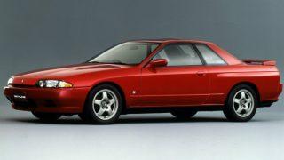日産 スカイライン (8代目 R32 '89-'94):足回りの刷新とともにフルタイム4WD車を設定