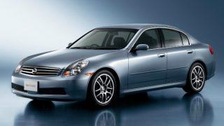 日産 スカイライン (11代目 V35 '01-'07):アメリカ市場も視野に入れたグローバルカーに変貌