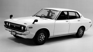 日産 バイオレット (初代 '73-'77):510型ブルーバードの後継車種としてデビュー [710]