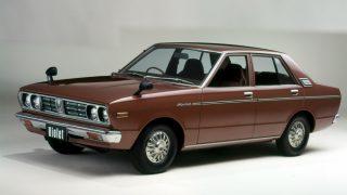 日産 バイオレット (2代目 '77-'81):スタイリングを一新すると共に姉妹車種を設定 [A10]
