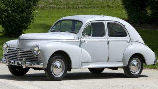 プジョー203 ('48-'60):同社戦後初のモデルとして誕生した小型乗用車