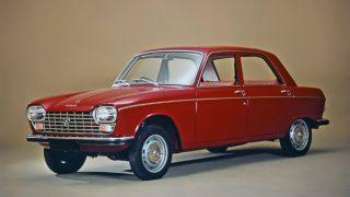 プジョー204 ('65-'76):同社初のFF方式及びSOHCエンジン採用車として誕生