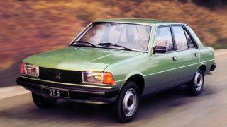 プジョー305 ('77-'89):304/404の後継車種とした登場したFFセダン/ワゴン