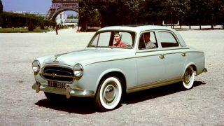 プジョー403 ('55-'67):フラッシュサイド・フルワイズ・ボディを採用