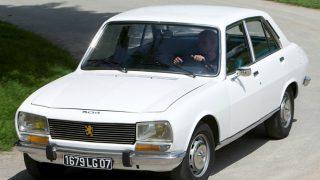 プジョー504 ('68-'89):404の後を継ぎ世界的ベストセラーカーに