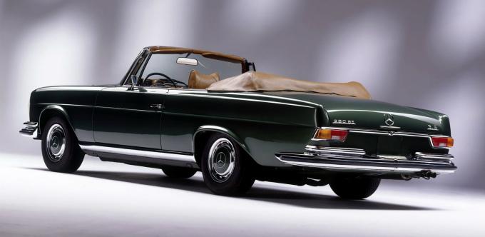 メルセデス・ベンツ 280se 3.5 cabriolet 1969