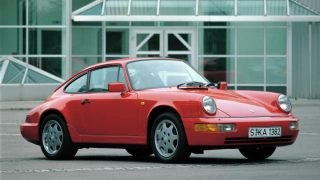 ポルシェ 911 (3代目 964 '89-'93):930型からサスペンションを刷新し4WDを追加