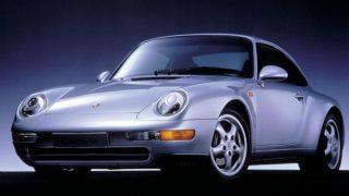 ポルシェ 911 (4代目 993 '93-'98):今なお人気の高い空冷最後の911