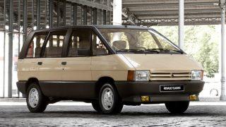 ルノー エスパス (初代 '84-'91):マトラ社が開発を手掛け、欧州初のミニバンとして大ヒット