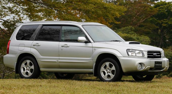 スバル フォレスター XT 2003 (出典:favcars.com)