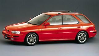 スバル インプレッサ (初代 '92-'00):レガシィの弟分として誕生したCセグメント車 [GC/GF]