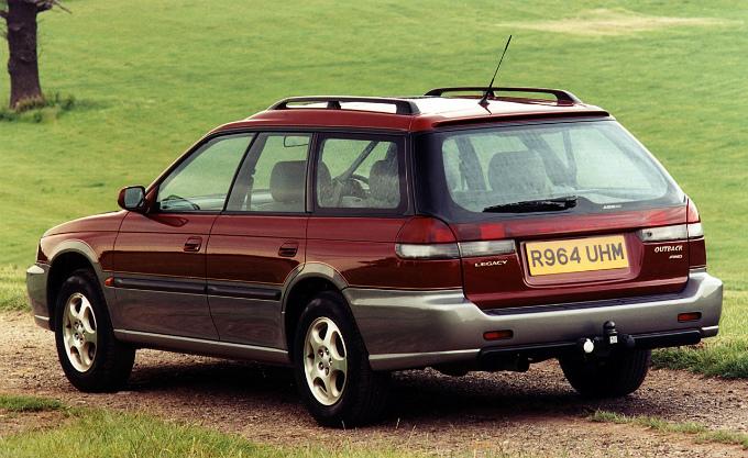 スバル レガシィ ツーリングワゴン Outback 1995