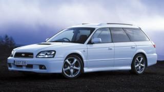 スバル レガシィ (3代目 '98-'03):全車4WDとなり、セダンはB4のサブネームを付加 [BE/BH]