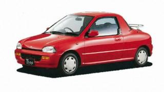 スバル ヴィヴィオTトップ/GXT ('93/'94):タルガトップ風ボディを採用した限定販売車 [KY3]