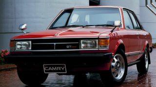 トヨタ セリカ・カムリ (初代 '80-'82):セリカの4ドアセダン版としてデビュー [A40/50]