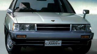 トヨタ カムリ (2代目 '82-'86):セリカの冠が消え駆動方式がFFに [V10]
