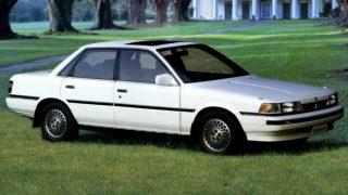 トヨタ カムリ (3代目 '86-'90):エンジンを刷新すると共に4ドアハードトップを設定 [V20]