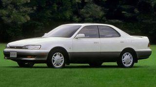 トヨタ カムリ (4代目 '90-'94):国内専用モデルとなり新たに4WSを設定 [V30]