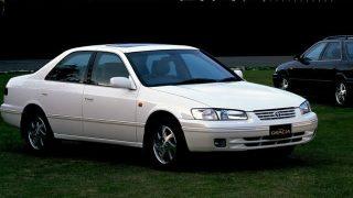 トヨタ カムリ/グラシア (6代目 '96-'01):セプターの後継モデルとして登場した3ナンバーセダン [XV20]