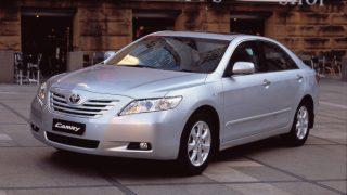 トヨタ カムリ (8代目 '06-'11):上級志向を強めると共に燃費・環境性能を改善 [XV40]