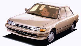 トヨタ カリーナ (5代目 T17♯ '88-'92):バリエーションを整理しガソリン車は全車DOHCに