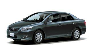 トヨタ カローラアクシオ (10代目 '06-'12):キープコンセプトながらサブネームが付加され、燃費が向上 [E14♯]