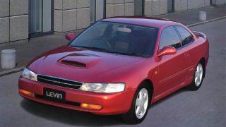 トヨタ カローラレビン/スプリンタートレノ (6代目 '91-'95):先代からボディを拡大しエンジンを改良 [AE100/101]