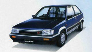 トヨタ カローラⅡ (初代 '82-'86):ターセル/コルサの姉妹車種としてデビュー [L2♯]