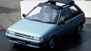 トヨタ カローラⅡ (2代目 '86-'90):リトラクタブルヘッドランプ仕様車やターボ車を設定 [L3♯]