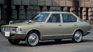 トヨタ カローラ (2代目 '70-'77):先代からボディサイズや排気量を拡大し上級志向に [E2♯]