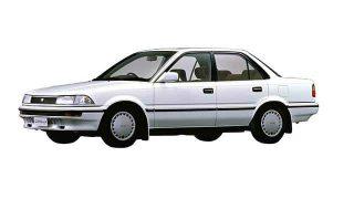 トヨタ カローラ (6代目 '87-'91):ハイメカツインカム車やフルタイム4WD車を設定 [E9♯]