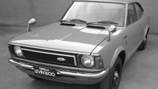 トヨタ カローラレビン/スプリンタートレノ (初代 '72-'74):1.6Lエンジンを搭載するカローラ/スプリンターのホットモデル [TE27]