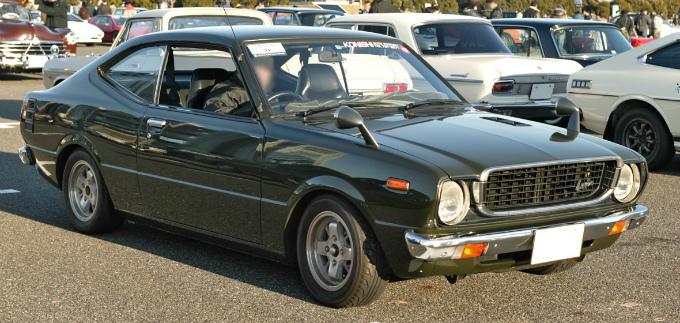 トヨタ カローラレビン スプリンタートレノ 2代目 1974 1979 レビン トレノで異なるボディを採用し別