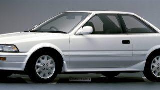 トヨタ カローラレビン/スプリンタートレノ (5代目 '87-'91):駆動方式をFFに変更しパワートレインも一新 [AE91/92]