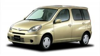 トヨタ ファンカーゴ ('99-'05):優れたユーティリティを実現した小型トールワゴン [NCP2♯]