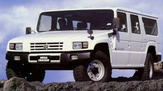 トヨタ メガクルーザー ('96-'01):自衛隊向け高機動車の民生バージョンとして登場 [BXD20V]