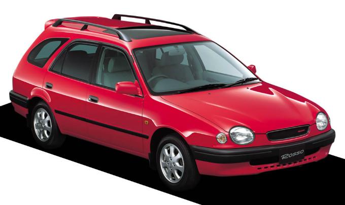 トヨタ スプリンターカリブ ロッソ 1998