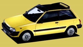 トヨタ スターレット (3代目 '84-'89):駆動方式をFFに変更しエンジンラインナップも一新 [P7♯]