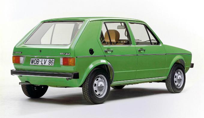 フォルクスワーゲン ゴルフⅠ5Dr 1974