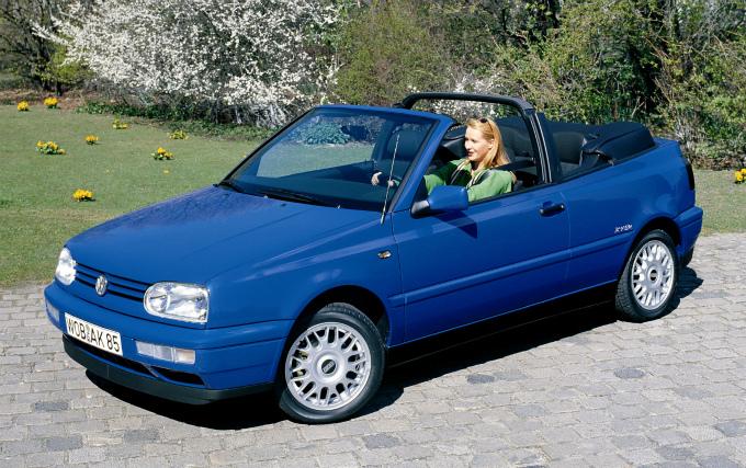 フォルクスワーゲン ゴルフⅢ Cabrio 1996