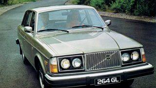 ボルボ 260シリーズ ('74-'82):衝突安全性能を向上させると共にエンジンを一新