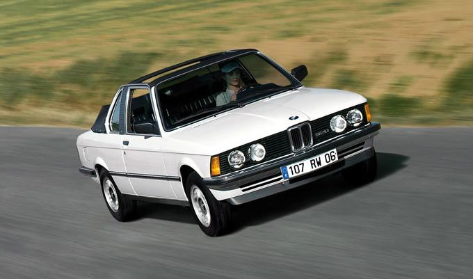 BMW 3シリーズ top cabriolet 1982