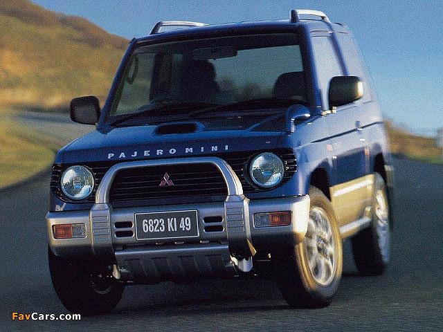 出典:favcars.com 三菱パジェロ ミニ '94