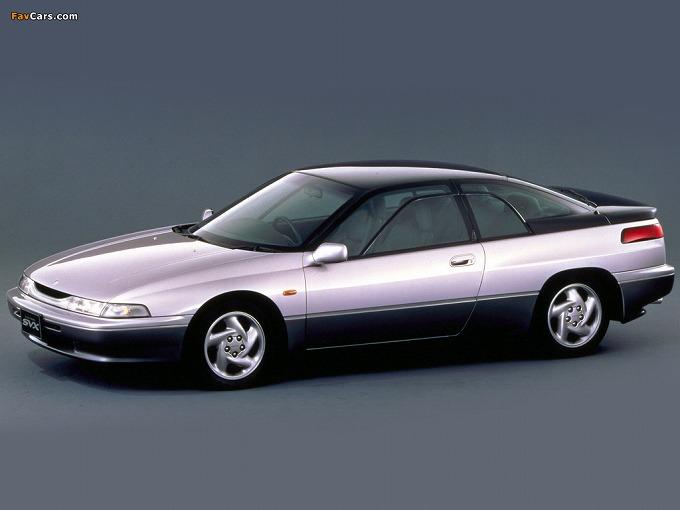 出典:favcars.com スバル アルシオーネSVX